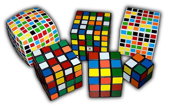 All kinds of Rubik's cube
